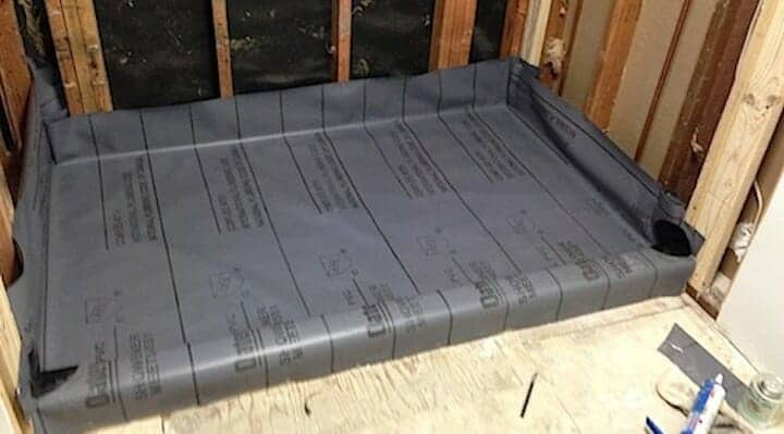 oatey shower pan liner
