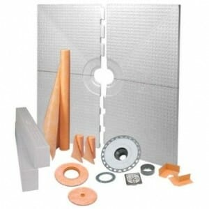 schluter shower system
