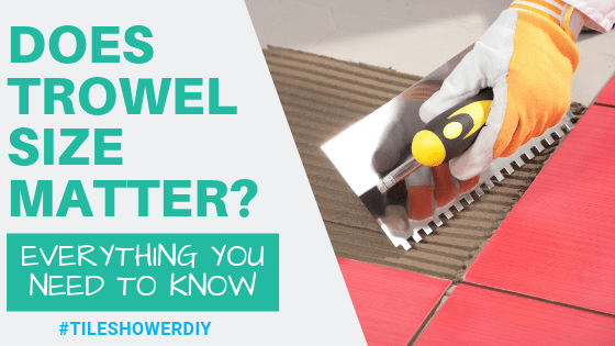 Does Trowel Size Matter?